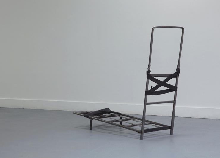Exposition Morphogenèse, Vincent Carlier, porte bagage
